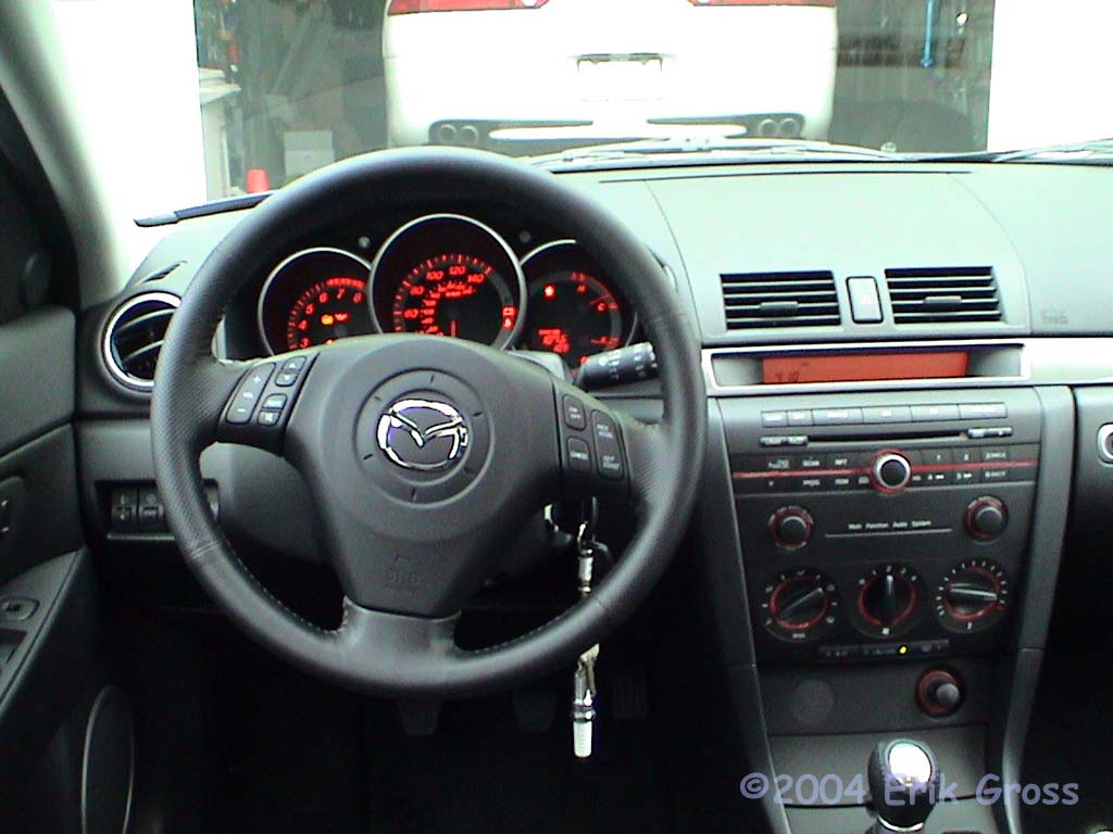 2004 mazda 3 hatchback car interior design. Black Bedroom Furniture Sets. Home Design Ideas
