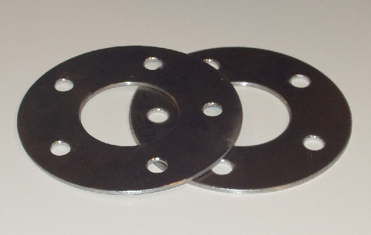 * Supercar Engineering 5 mm Wheel Spacers